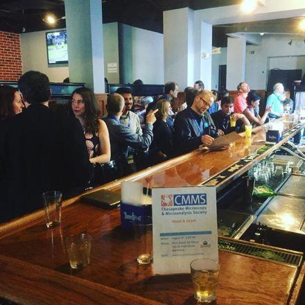 The CMMS Meet & Greet at the Pratt Street Ale House was a huge success
