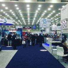 A multitude of engaging vendors on the expo floor.